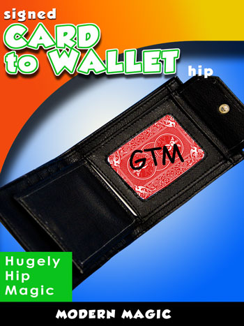 Card to Wallet, Hip, Leather - Modern