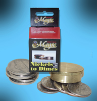 Nickels to Dimes, Metal Ring - Royal