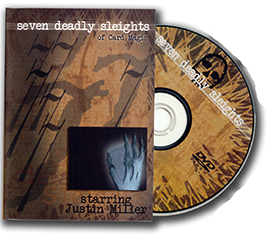 Seven Deadly Sleights DVD - Justin Miller