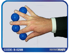 Multiplying Balls Plastic - Blue