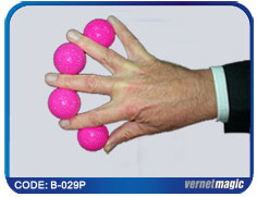 Multiplying Balls Plastic - Pink