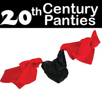 "20th Century Silk Panties 18"" - Europe"