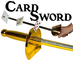 Card Sword - Compound Plastic Gold