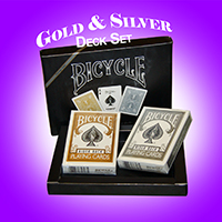 Bicycle Prestige - Gold & Silver deck SET