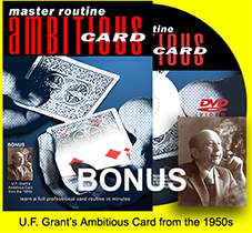Ambitious Card DVD Master Routine