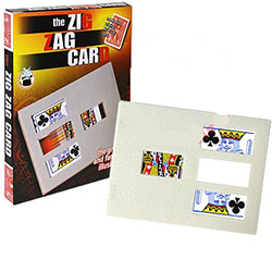 Zig Zag Card Frame, Bicycle - Boxed