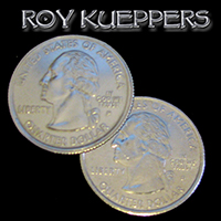 Double Sided Coin - Quarter - Kueppers