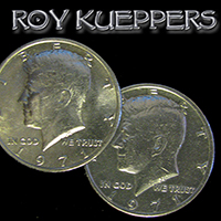 Double Sided Coin - Half Dollar - Head - Kueppers