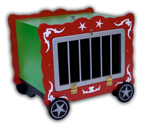 Circus Wagon w/ Bar Front