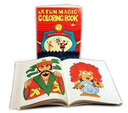 Coloring Book KIT w/ Wand & Crayons