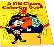 Coloring Book, CLOWN - Royal