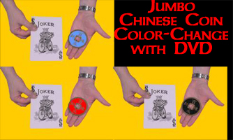 Jumbo Chinese Coin Color-Change-DVD