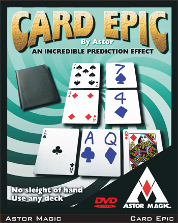 Card Epic w/ DVD - Astor