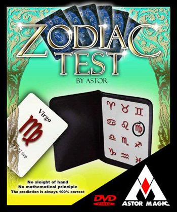 Zodiac Test w/ DVD - Astor
