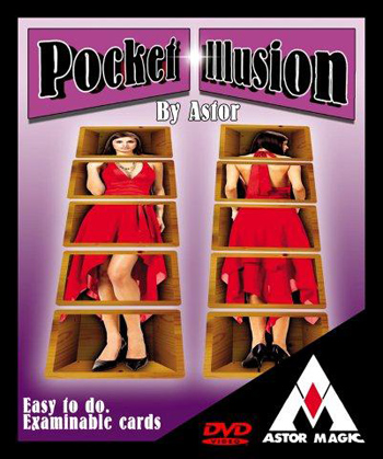 Pocket Illusion w/DVD- Astor