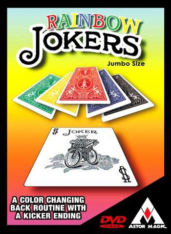 Rainbow Jokers, Jumbo w/DVD- Astor
