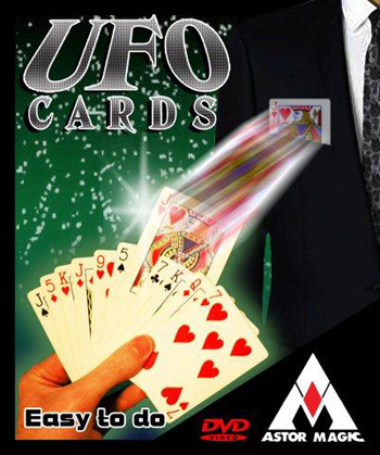 UFO Cards w/ DVD - Astor