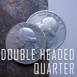 Double Sided Coin - Quarter - Head