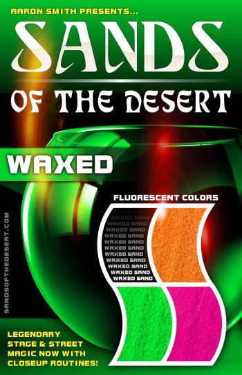 Sands of the Desert WAX Fluorescent Sands