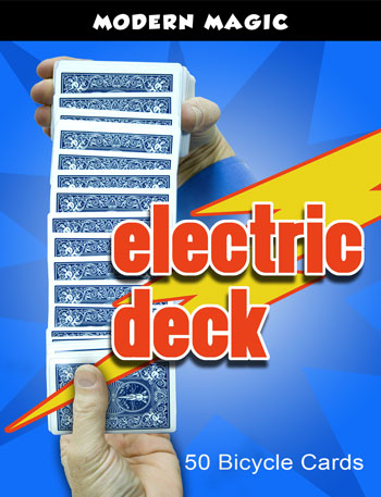 Electric Deck, Pro, Bicycle - Modern