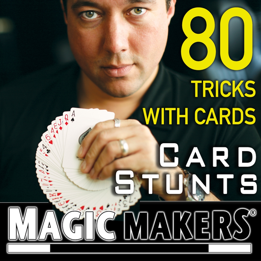 80 TRICKS WITH CARDS IN CARD STUNTS COURSE - DOZEN PRICING