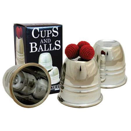 Chrome Cups & Balls In Plastic