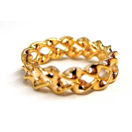 Optical Illusion Gold Ring by Magic Makers