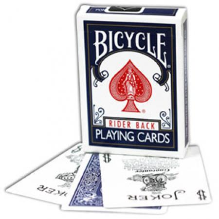 Bicycle Blue Poker Deck - Nouvel Etui avec Publicite