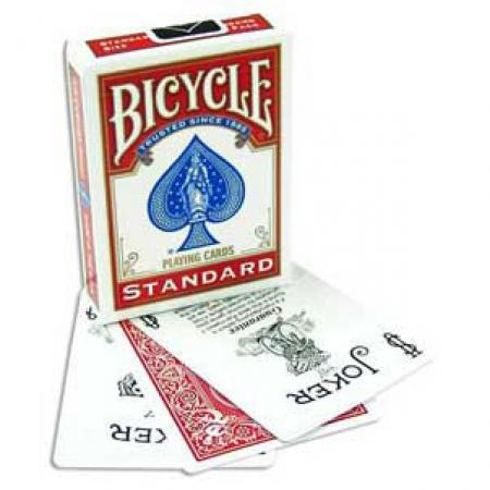 Bicycle Red Poker Deck - Nouvel Etui avec Publicite