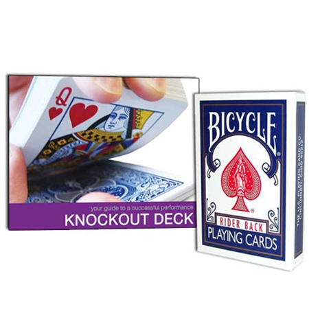Bicycle Knockout Deck with DVD
