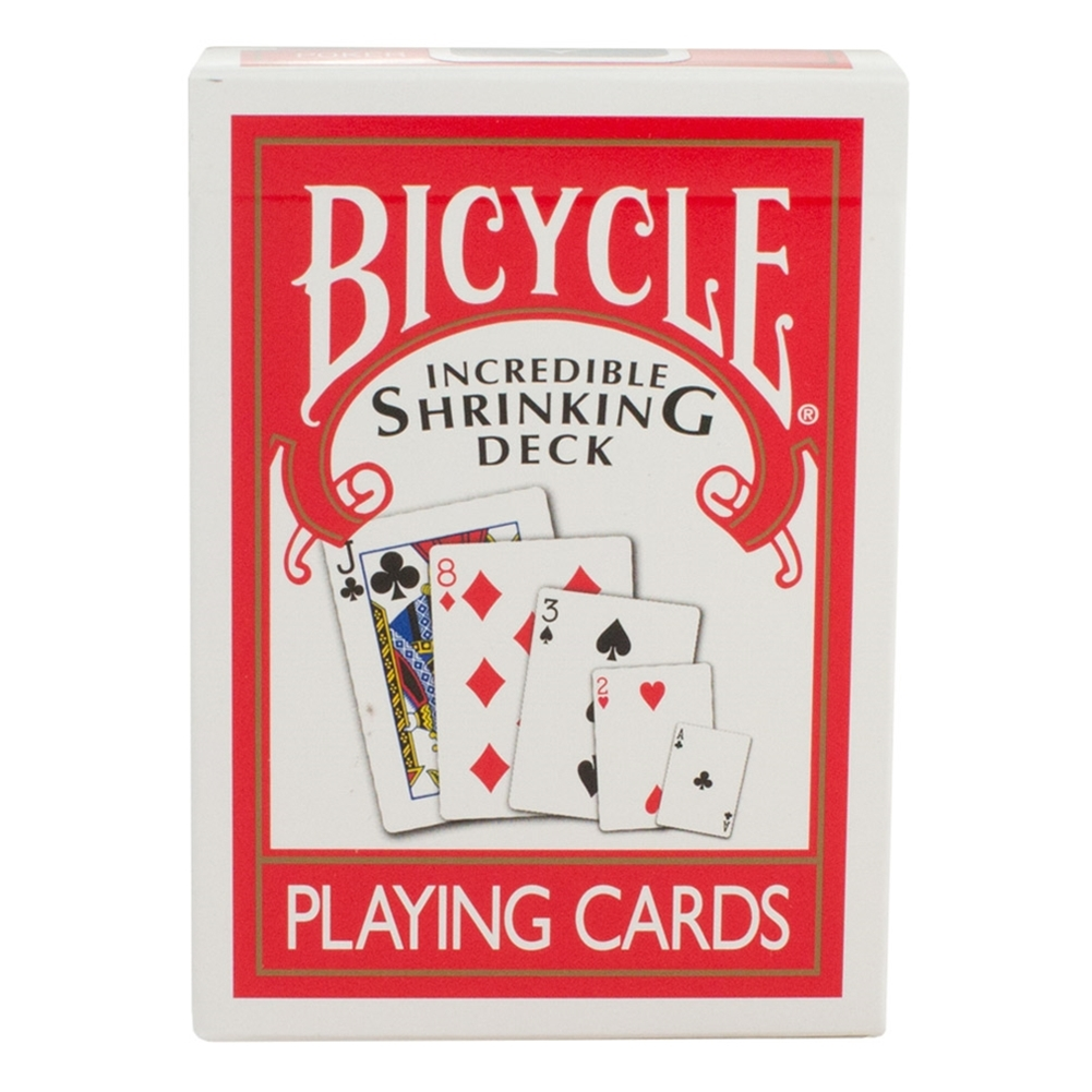 Incredible Shrinking Bicycle Deck W/ DVD12pk