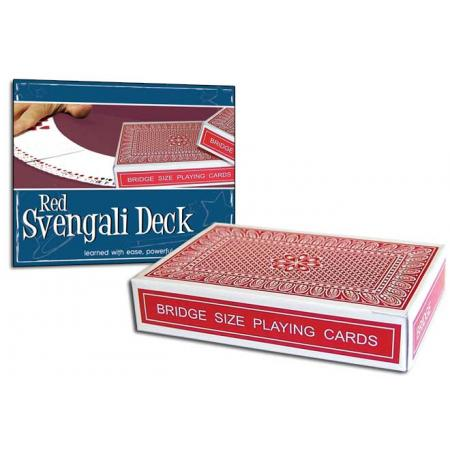 Pro Brand Bridge Svengali Deck (Red) - Packaged