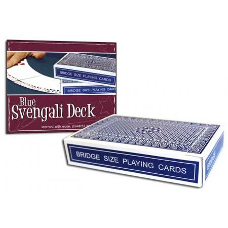 Pro Brand Bridge Svengali Deck (Blue) - Packaged
