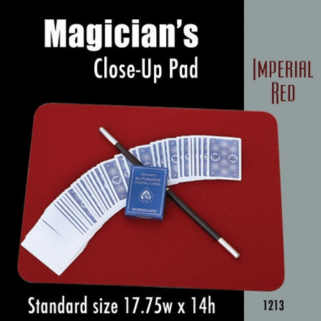 Standard Size Close-up Pad (Imperial Red) 17.75  x 14
