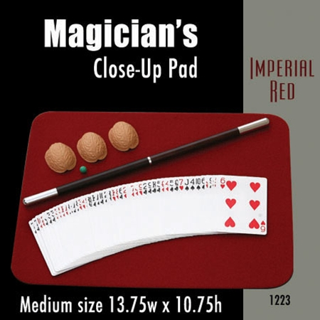Medium Size Close-up Pad (Imperial Red) 13.75  x 10.75
