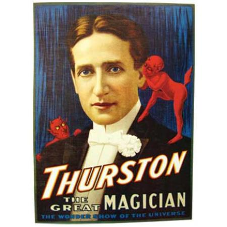 Paper Canvas Series - Thurston The Great Magician Poster
