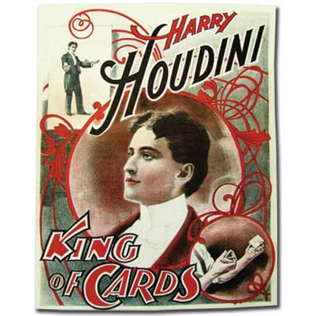 Paper Canvas Series - Houdini King of Cards Poster