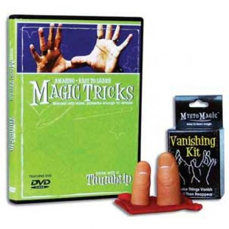 Amazing Easy To Learn Magic Tricks: Tricks with a Thumbtip Combo