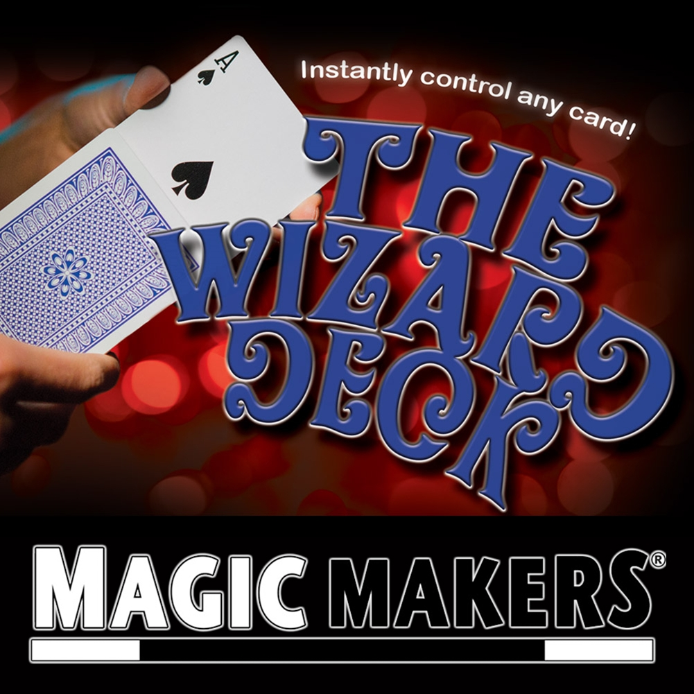The Wizard Deck (Stripper Deck Poker Size)