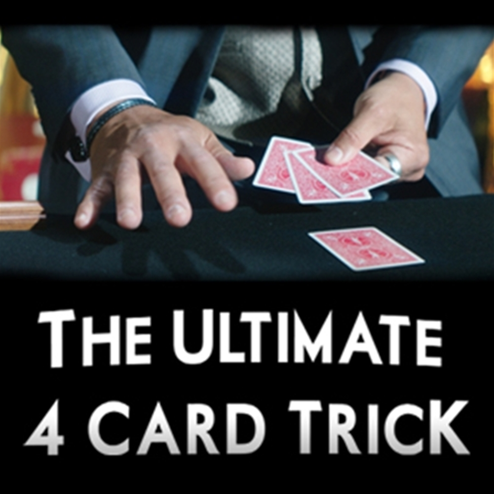 Ultimate 4 Card Trick - Dozen Pricing