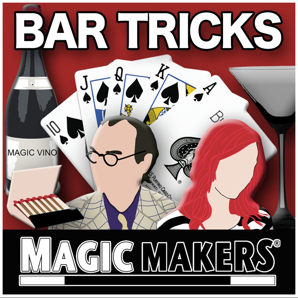 Bar Tricks Bar Betchas by MAGIC MAKERSDozen Pricing