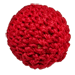 1 inch Magnetic Crochet Ball (Red) by Ickle Pickle Products, Inc. - Tour
