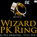 Wizard PK Ring Original (FLAT, GOLD, 18mm) by World Magic Shop - Tour