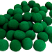 1.5 inch Super Soft Sponge Balls (Green) Bag of 50 from Magic By Gosh