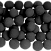 2 inch Regular Sponge Ball (Black) Bag of 50 from Magic by Gosh