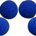 2 inch Super Soft Sponge Ball (Blue) Pack of 4 from Magic by Gosh