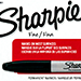 (Ungimmicked) Fine-Tip Sharpie (Black) box of 12 by Murphy's Magic Supplies - Tour