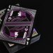 Alloy Amethyst Playing Cards (Purple)