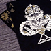 Bicycle Dream Black/Gold Playing Cards by US Playing Card