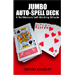 Auto Spell Deck (Jumbo) by Devin Knight - Trick